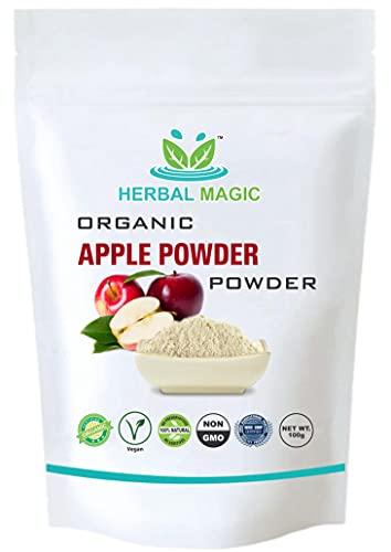 Herbal Magic Organic Apple Powder, 100% Natural, Vegan, Non-GMO, High Fibre...