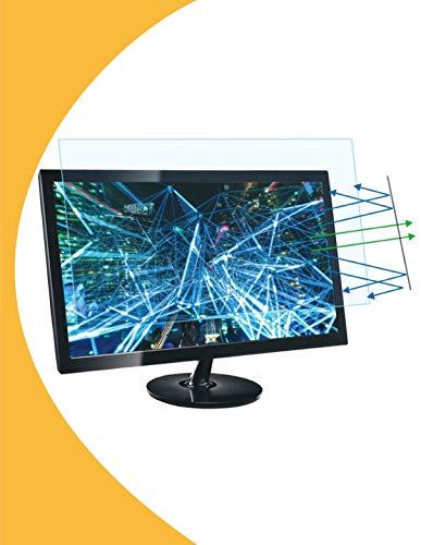 Olnema Anti Blaulichtfilter Premium I Anti Blue Screen Protector I Anti UV I Blendschutz I Augenschutz I Bildschirmschutz Folie für Computer und PC Monitor 27.0 Zoll (16:9) - 598x337mm