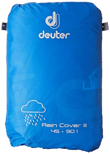 Product Image 1: Deuter Rain Cover III – Waterproof Rain Cover for Backpacks 45L to 90L, Coolblue, One Size