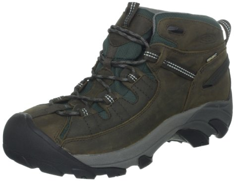 Hot Sale KEEN Women's Targhee II Mid Hiking Boot,Black Olive/Darkest Spruce,8.5 M US