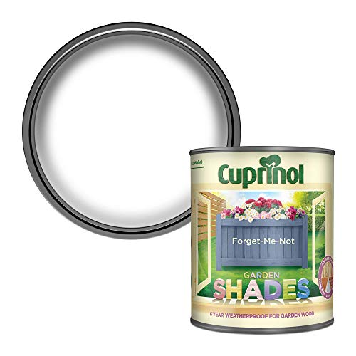 Cuprinol 5083471 Garden Shades Exterior Woodcare, Forget Me Not, 1L