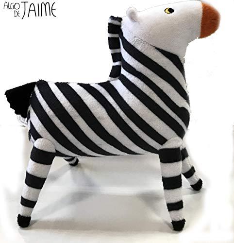 Cefa Toys- Peluche solidario, Color Blanco/Negro (00207