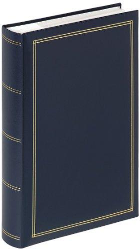 Walther design ME-140-L Memo-Album Monza, blau, für 300 Fotos 10x15