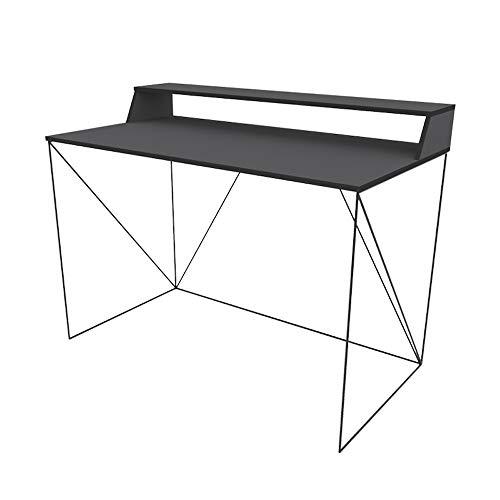 Selsey Schreibtisch, Anthrazitgrau, 60 x123 x 76 cm