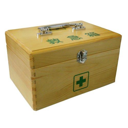 リーダー木製救急箱Lサイズ