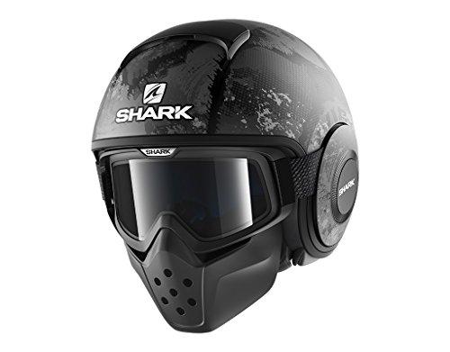 Shark Motorradhelm Hark Drak Evok Mat, Schwarz, Größe S
