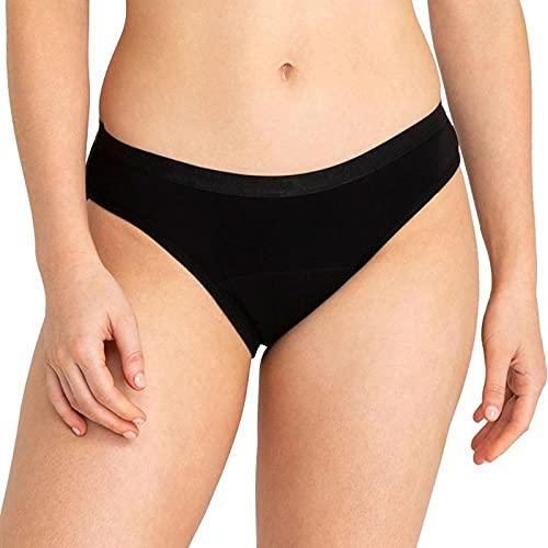 HHSW Bragas De Bikini Pantalones Fisiológicos De Absorción Ensanchada De Algodón A Prueba De Fugas De Cintura Media-A_4XL