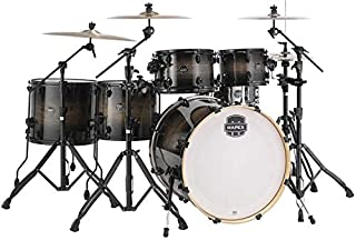 Mapex Armory 6-piece Studioease Fast Tom Shell Pack - Black Dawn