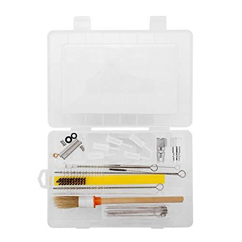 Professionnel multifonction Airbrush Nettoyage spécial Box Set Vaporisez Kit Machine avec connecteurs pour Maquillage Modèle Nail Body Paint Art