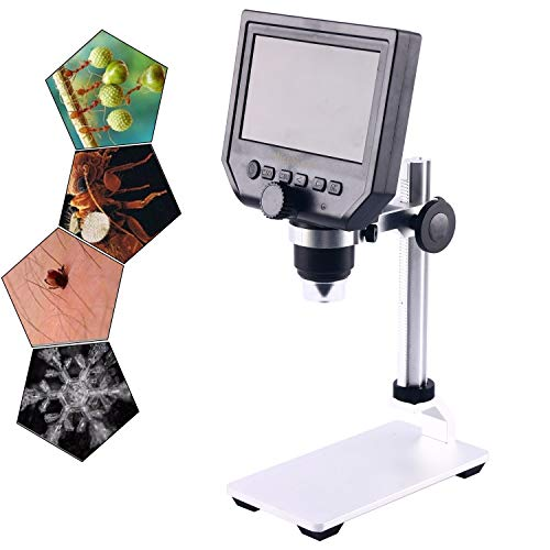 600X 4.3 LCD Display Electronic Digital Microscope for Mobile Phone Repair