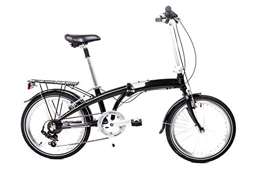 20 Zoll Alu Klapp Rad Falt Fahrrad Folding Bike Shimano 7 Gang Camping B-Ware