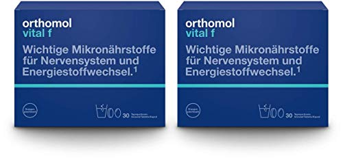 Sparset Orthomol Vital F 2 x 30 Tagesportionen