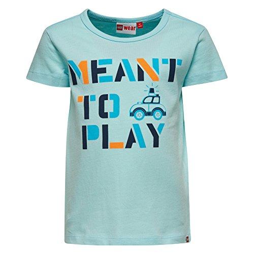 Lego Wear Lego Duplo Texas 107-T-SHIRT T-Shirt, Bleu (Light Blue), 24 Mois Bébé garçon
