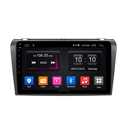 Estéreo para Automóvil Reproductor De DVD Y CD para Automóvil Sat Navi GPS para Mazda 3 2007-2012 Soporte Navegación GPS Audio Video Bluetooth USB SD SWC FM Am