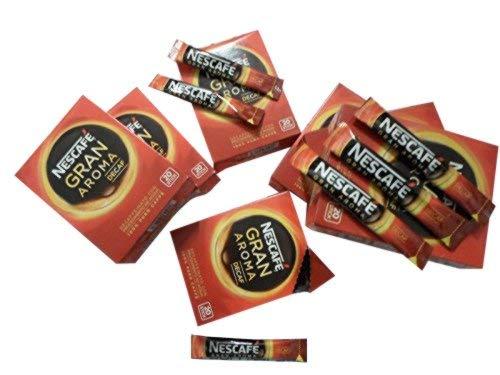 360 unidades de café disolvente + 120 unidades de café descafeinado monoporción Nescafé liofilizado sobre instantáneo para café instantáneo sin cafeína