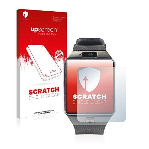 upscreen Schutzfolie kompatibel mit Simvalley Mobile PW-430.mp PX-4057 – Kristallklar, Kratzschutz, Anti-Fingerprint