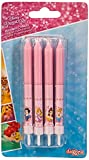 Dekora - Velas de Cumpleaños Infantiles de Princesas Disney de 9 cm - 8 unidades