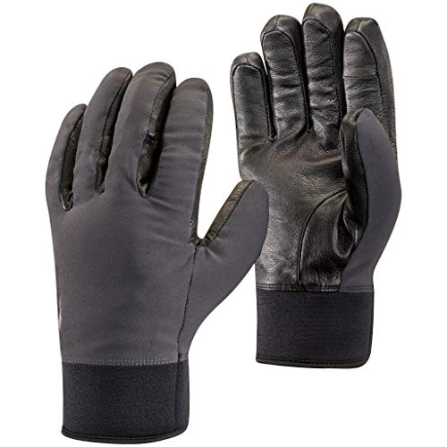 Black Diamond Heavyweight Softshell Gants Mixte Adulte, Smoke, FR : S (Taille Fabricant : Small)