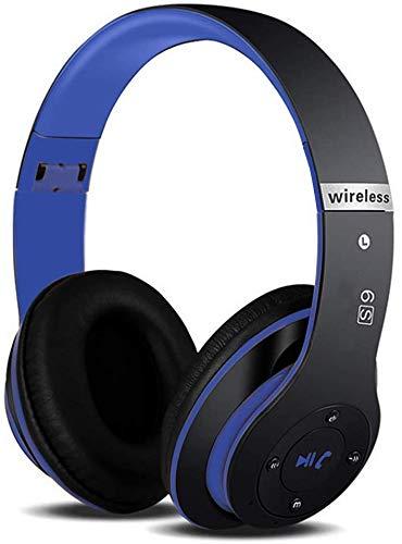 6S Wireless Cuffie, Cuffie Bluetooth Cuffie Audio Hi-Fi Auricolare wireless Cuffia Cuffie Wireless Pieghevole ad Alta Fedeltà, Micro SD/TF, per iPhone/Samsung/iPad/PC