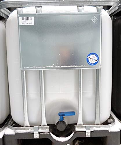 Hofer24 600 Liter IBC Tank (1) – Palette & Gitterbox gebraucht # Tank gereinigt/wie neu