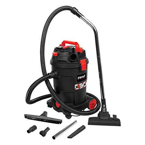 Trend T33A Class M Dust Extractor Wet & Dry 1200w inc Power Tool Take Off 230v