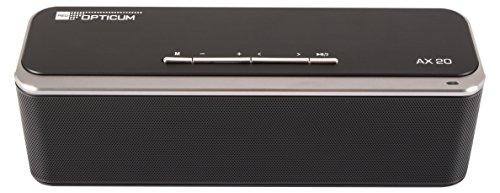 Opticum AX20 Bluetooth luidspreker met passieve subwoofer zwart
