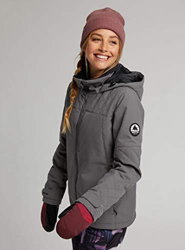 Burton Tulum Castlerock Damen-Skijacke, Größe L, Grau