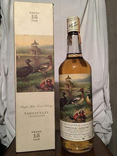 Tamnavulin Glenlivet 15yo Special Reserve Birds Series bottiglia n. 226 70cl con estuche