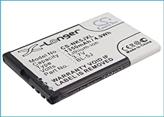 X-Longer Replacement Battery for Nokia 5230, 5800, 5800 XpressMusic, 5800T, 5900 XpressMusic, Asha 200, Asha 201, C3, Glee, Lumia 520, Lumia 520.2, Lumia 521, Lumia 525, Lumia 525.2