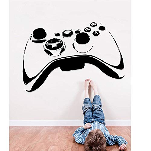 Aya611 Vinyl wandaufkleber Ps4 Video Game Controller wandaufkleber für Jungen Zimmer große Xbox wohnkultur Aufkleber für kinderzimmer Abnehmbare Vinyl Decals94x57cm