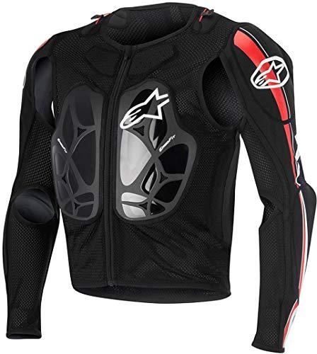 Alpinestars Bionic Pro - Chaqueta, color negro/rojo/blanco