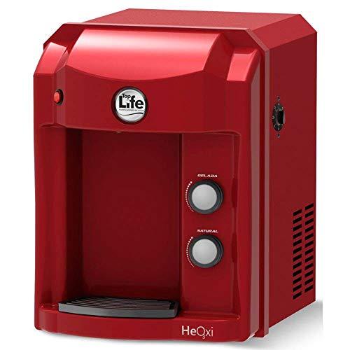 Purificador Alcalino Com Ozonio Top Life - Vermelho - 110V