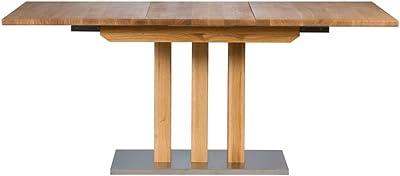 Amazon Brand Tina Table Chêne sauvage huilé naturel 130/180 x 90 x 77 cm
