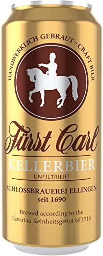 Deutsche Bierspezialitäten in der Dose (24 x 0,5l Fürst Carl Kellerbier)