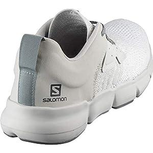Salomon Men's Predict SOC Running, White/Lunar Rock/Green Milieu, 14