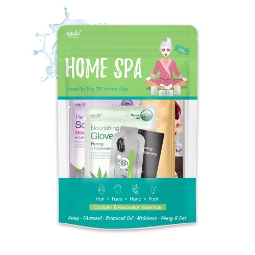 Skincare Beauty Kit | Korean Beauty | 6 Items Included | Gift set for women, Spa Gift for women (Home Spa Kit)