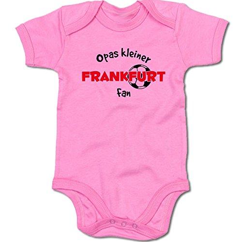 G-graphics Opas Kleiner Frankfurt Fan Baby Body Suit Strampler 250.0295 (0-3 Monate, pink)