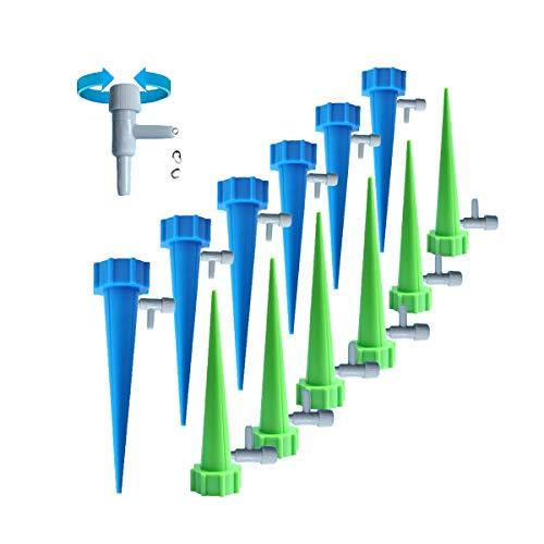 Allring 12 stuks waterdispenser voor planten automatisch bewateringssysteem voor tuin planten bloemen en kamerplanten irrigatie automatisch gieten voor potplanten