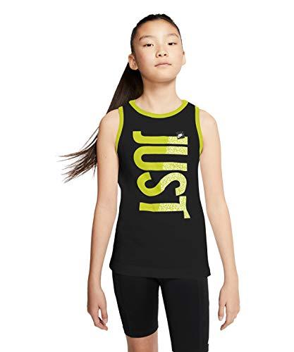 Sportswear T-Shirt, Schwarz, Gelb, Mädchen, Schwarz / Gelb, S