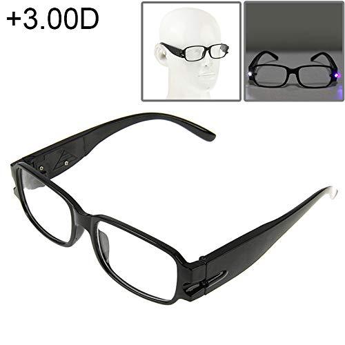 JSANSUI Goedkope leesbril UV-bescherming wit hars lens leesbril met oplossing, functie (1.00D)
