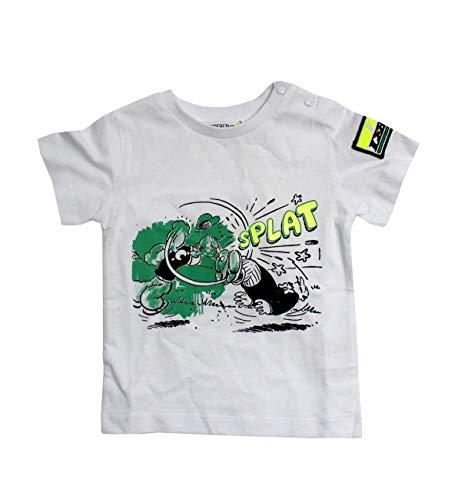 Iceberg T-Shirt Bimbo TSICE2126B Bianca Con Braccio di Ferro PE20 5A
