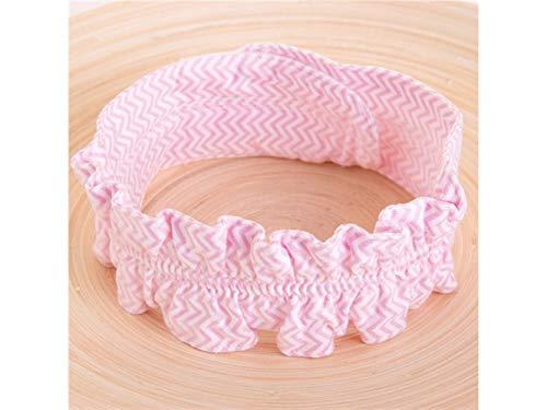 Jonge glans Kids Hoed Baby Katoen Verstelbare Luiers Vaste Riem Luier Gesp Baby Care Producten(Pink Wave) Peuter Cap