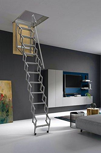 Mister Step Escalera escamoteable para buhardillas ADJ (70 x 50 cm.)