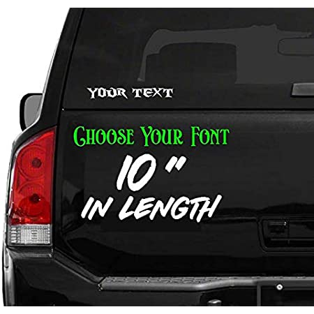 "initials name 5/"" LETTER /""N/"" vinyl decal car truck window laptop sticker"