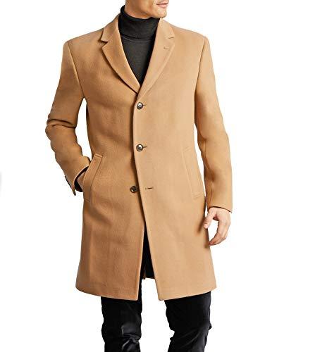 Tommy Hilfiger Men's All Weather Top Coat, Camel, 44R