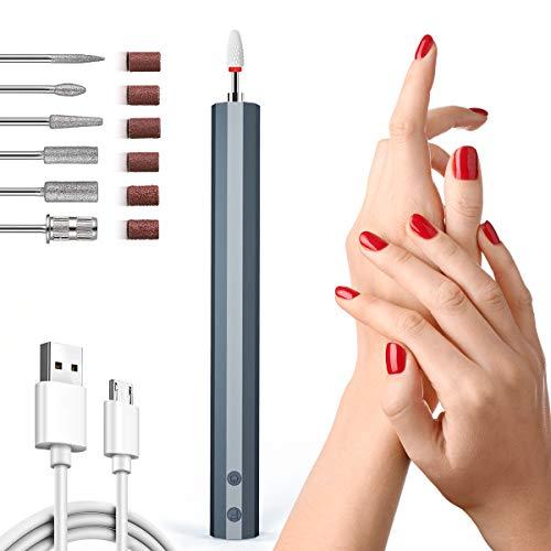 Elektrische Nagelfeile Nagelfräser, Professionelle Nagelfeile, Tragbares Maniküre-Set Pediküre-Set für Persönliche DIY-Maniküre und Nagelstudio