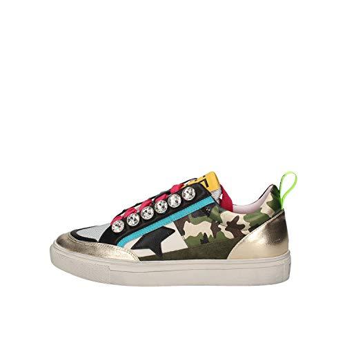 Emanuélle Vee 411p-803-11-p063 - Zapatillas deportivas para mujer Size: 37 EU