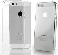 Funda gel Iphone 5 Transparente + 1protector de pantalla
