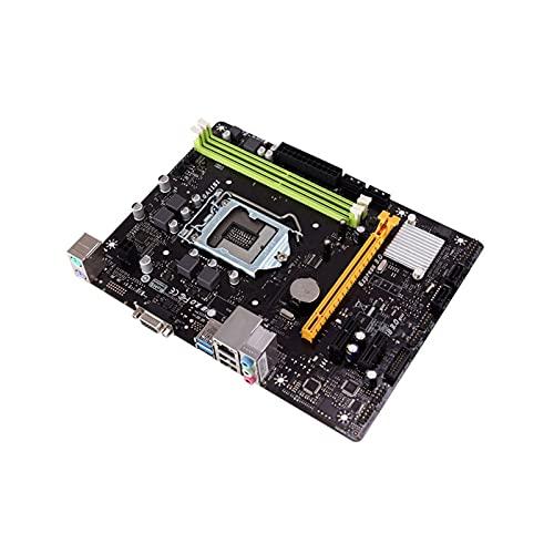 Fit for BIOSTAR H110MLC 1151 H110 DDR4 Micro ATX, Placa Base de computadora de Escritorio, Compatible con G4560 I3-7100 SATA3 PCI-E 3.0