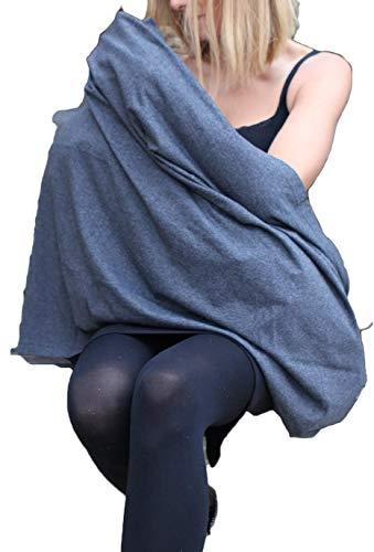 Stilltuch, endloser Schal zum Stillen aus Baumwolle